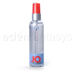 JO H2O for women warming lubricant - water based lube