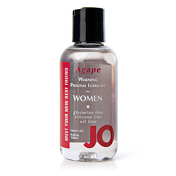 JO warming lubricant - water based lube