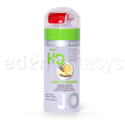 JO H2O flavored lubricant