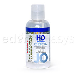 JO H2O cool anal lubricant - water based lube