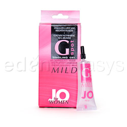 System JO G-spot tingling gel mild - lubricant