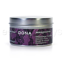 Dona massage candle