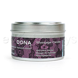 Dona massage candle - body massage candle