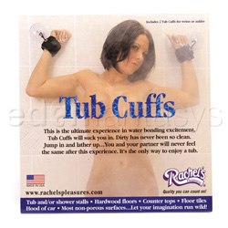 Wrist cuffs - Tub cuffs - view #3