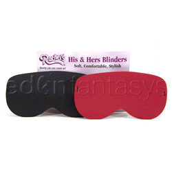 Blindfold - His and hers blinders - view #2
