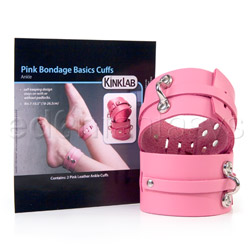 Ankle cuffs - Ankle bondage basics cuffs - view #4