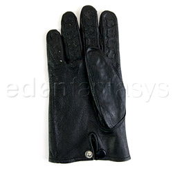 Gloves - Leather vampire gloves - view #4