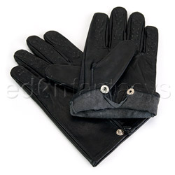 Gloves - Leather vampire gloves - view #6
