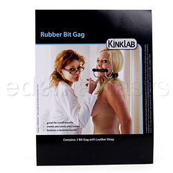 Mouth gag - Rubber bit gag - view #5