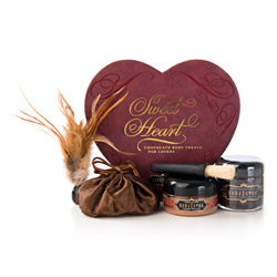 Sweet Heart chocolate box - sensual kit