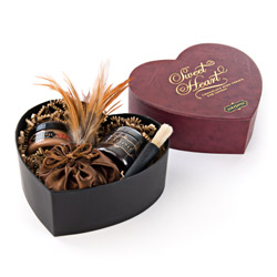 Sensual kit - Sweet Heart chocolate box - view #5