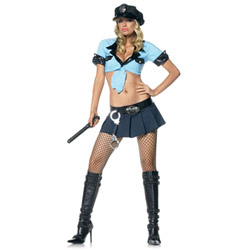 Officer frisk me - costume