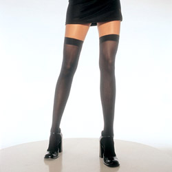 Opaque thigh highs - hosiery