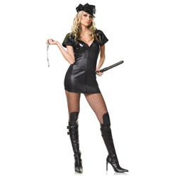 Officer costume - sexy costume