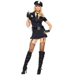 Dirty cop - sexy costume