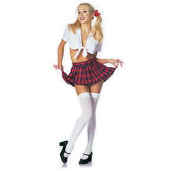 Classic school girl - sexy costume