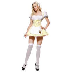 Sexy goldilocks costume