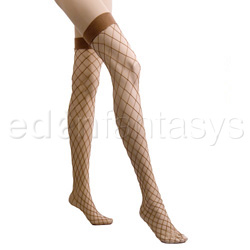 Fence net thigh high - thigh highs