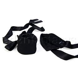 Etherea silk cuffs - wrist cuffs