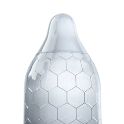 Male condom - Hex - view #3