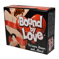 Adult game - Bound By Love bondage kit and card game - view #3