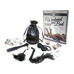 Complete BDSM set - Weekend in the bed bondage game kit - view #1