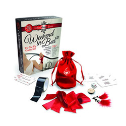Erotic weekend tie me up game kit