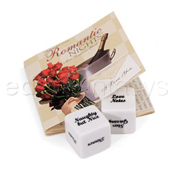 101 romantic nights dice - Adult game