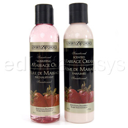 Scented massage combo