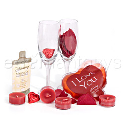 Romantic gift set - Sensual kit