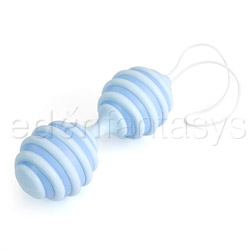 Ophoria K-balls #10 ribbed - exerciser for vaginal muscles