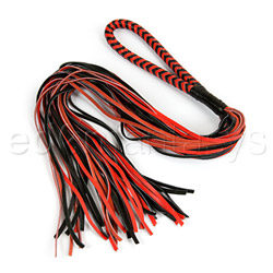 Whip - Calf leather two tone flogger - view #1
