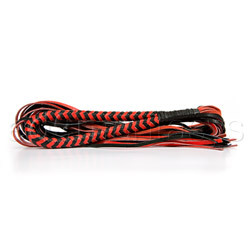 Whip - Calf leather two tone flogger - view #3