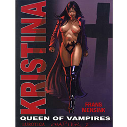 Kristina Queen of Vampires Vol: 1 - erotic graphic novel