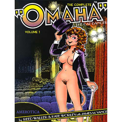 The Complete Omaha The Cat Dancer Volume 1 - erotic graphic novel