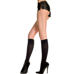 Opaque knee high - hosiery