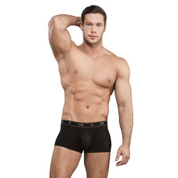 Bamboo pouch enhancer short - shorts