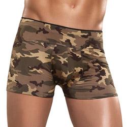 Camo panel short - shorts