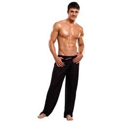 Knit silk pants - lounge pants