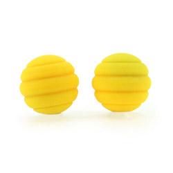 Vaginal balls  - Twistty silicone balls - view #1