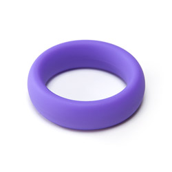 Silicone penis ornament - cock ring