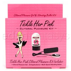 Vibrator kit  - Tickle her pink pleasure kit - view #2