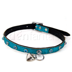 Ruff doggie styles sea foam seduction collar - collar