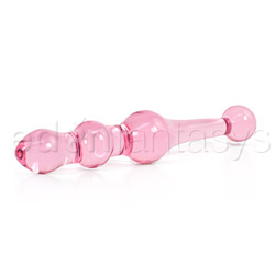 Vaginal exerciser - Crystal premium glass kegel small - view #2