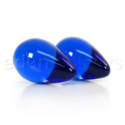 Vaginal balls  - Premium glass large eggs - view #2