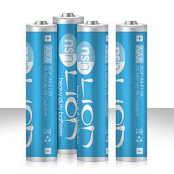 LION - zinc batteries AAA - DVD