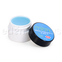 Minty breath freshening lip balm