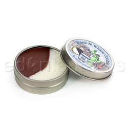 Double dipped lip balm