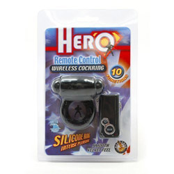 Penis ring with remote control - Hero remote control cock ring - view #4