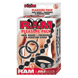 Cock ring set - Ram pleasure pack - view #2